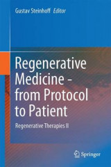 Omslag - Regenerative Medicine - From Protocol to Patient 2016: Regenerative Therapies II No. 5