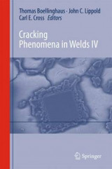 Omslag - Cracking Phenomena in Welds 2016: No. 4