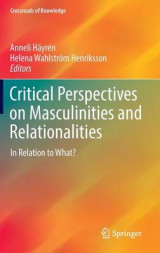 Omslag - Critical Perspectives on Masculinities and Relationalities 2016