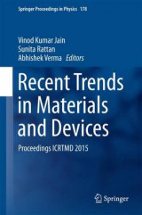 Omslag - Recent Trends in Materials and Devices 2016