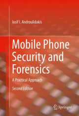 Omslag - Mobile Phone Security and Forensics 2016