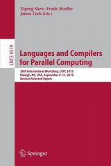 Omslag - Languages and Compilers for Parallel Computing 2016