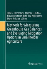 Omslag - Methods for Measuring Greenhouse Gas Balances and Evaluating Mitigation Options in Smallholder Agriculture 2016
