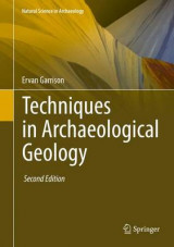 Omslag - Techniques in Archaeological Geology 2016