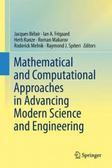 Omslag - Mathematical and Computational Approaches in Advancing Modern Science and Engineering 2016