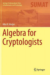 Omslag - Algebra for Cryptologists 2016