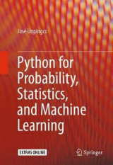 Omslag - Python for Probability, Statistics, and Machine Learning 2016