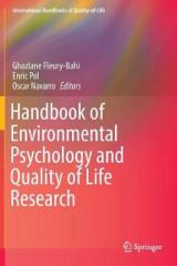 Omslag - Handbook of Environmental Psychology and Quality of Life Research 2016