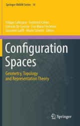 Omslag - Configuration Spaces 2016