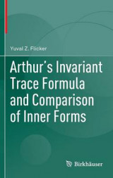 Omslag - Arthur's Invariant Trace Formula and Comparison of Inner Forms 2016