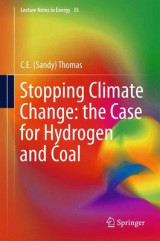 Omslag - Stopping Climate Change: The Case for Hydrogen and Coal 2017