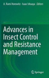 Omslag - Advances in Insect Control and Resistance Management 2016
