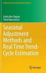 Omslag - Seasonal Adjustment Methods and Real Time Trend-Cycle Estimation 2016