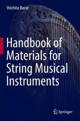 Omslag - Handbook of Materials for Stringed Musical Instruments 2017
