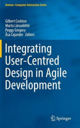 Omslag - Integrating User-Centred Design in Agile Development 2017