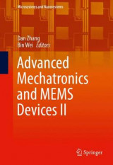 Omslag - Advanced Mechatronics and Mems Devices II 2016