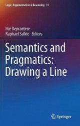 Omslag - Semantics and Pragmatics: Drawing a Line 2016