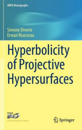 Omslag - Hyperbolicity of Projective Hypersurfaces 2016