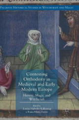 Omslag - Contesting Orthodoxy in Medieval and Early Modern Europe 2017