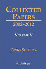 Omslag - The Collected Papers of Goro Shimura 2016: Volume 5