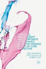 Omslag - Financial Management and Corporate Governance from the Feminist Ethics of Care Perspective 2017