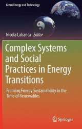 Omslag - Complex Systems and Social Practices in Energy Transitions 2017