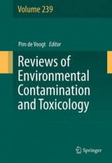 Omslag - Reviews of Environmental Contamination and Toxicology 2017: Volume 239