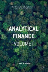 Omslag - Analytical Finance 2016: Volume I