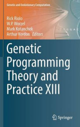 Omslag - Genetic Programming Theory and Practice XIII 2016