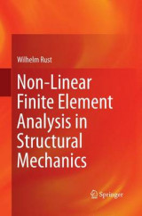 Omslag - Non-Linear Finite Element Analysis in Structural Mechanics