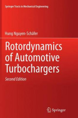 Omslag - Rotordynamics of Automotive Turbochargers