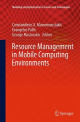Omslag - Resource Management in Mobile Computing Environments