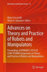 Omslag - Advances on Theory and Practice of Robots and Manipulators