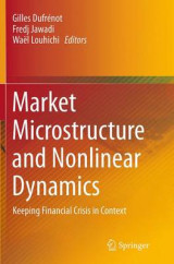 Omslag - Market Microstructure and Nonlinear Dynamics