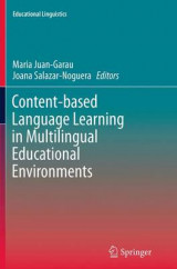 Omslag - Content-Based Language Learning in Multilingual Educational Environments