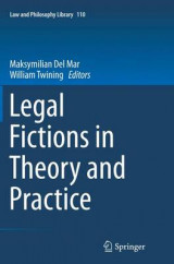 Omslag - Legal Fictions in Theory and Practice