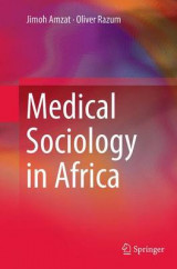 Omslag - Medical Sociology in Africa