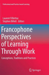 Omslag - Francophone Perspectives of Learning Through Work