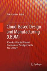 Omslag - Cloud-Based Design and Manufacturing (CBDM)