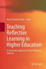 Omslag - Teaching Reflective Learning in Higher Education