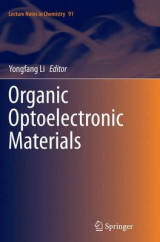 Omslag - Organic Optoelectronic Materials