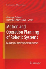 Omslag - Motion and Operation Planning of Robotic Systems