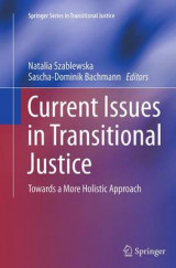 Omslag - Current Issues in Transitional Justice
