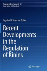 Omslag - Recent Developments in the Regulation of Kinins