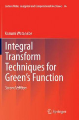Omslag - Integral Transform Techniques for Green's Function