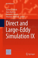Omslag - Direct and Large-Eddy Simulation IX