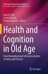 Omslag - Health and Cognition in Old Age