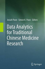 Omslag - Data Analytics for Traditional Chinese Medicine Research