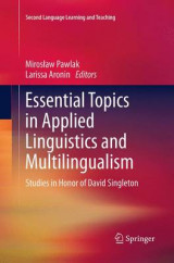 Omslag - Essential Topics in Applied Linguistics and Multilingualism