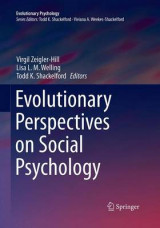 Omslag - Evolutionary Perspectives on Social Psychology